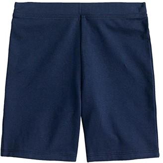 crewcuts by J.Crew Bike Shorts Print (Toddler/Little Kid/Big Kid) (Navy) Girl's Shorts