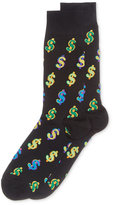 Hot Sox Men's Dollar Sign Socks
