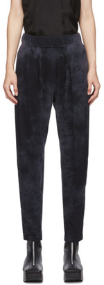Raquel Allegra Black Jersey Easy Pants