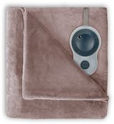 Sunbeam Velvet Plush Heated Blanket