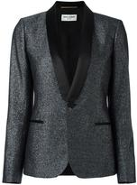 Saint Laurent Iconic Le Smoking jacket - women - Silk/Cotton/Polyester/Wool - 40