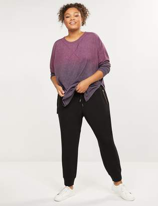 Lane Bryant LIVI Active French Terry Jogger - Zipper Pockets