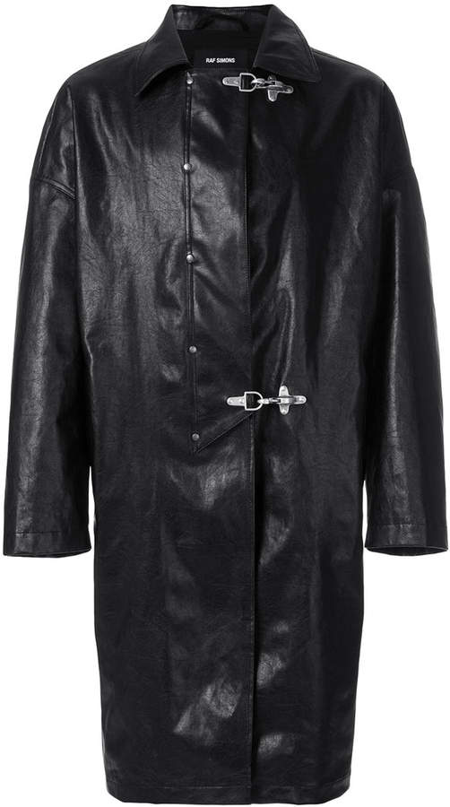 Raf Simons oversized fireman jacket