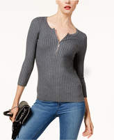 INC International Concepts I.n.c. Zip Henley, Created for Macy's