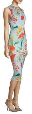 Alice + Olivia Delora Floral Dress