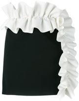 MSGM ruffle mini skirt - women - Polyester/Spandex/Elastane - 42