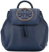 Tory Burch logo front backpack - women - Calf Leather - One Size