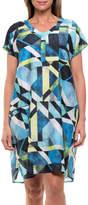 Yarra Trail Short Sleeve Mosaic Print Dress