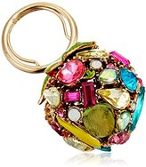 "Betsey Johnson Calypso Betsey"" Fruit and Faceted Stone Ring, Size 7"