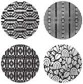 notNeutral Cooper Hewitt Coupe Plates (Set of 4)