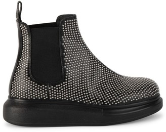 Alexander McQueen Studded Leather Chelsea Boots