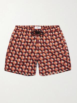 Mr P. Printed Shell Swim Shorts