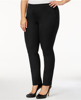 Alfani Plus Size Pull-On Skinny Pants, Created for Macy's