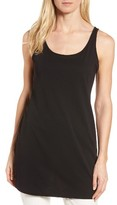 Eileen Fisher Women's Scoop Neck Long Tank