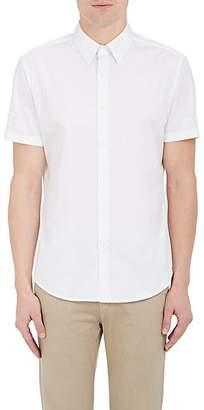 Theory Men's Sylvain Cotton Poplin Shirt - White