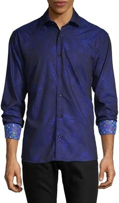 Bertigo Jacquard Long-Sleeve Shirt