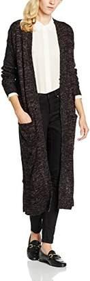 Vero Moda Women's Francie Copenhagen Plain Long Sleeve Cardigan,6 (Manufacturer Size:X-Small)