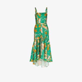 Johanna Ortiz Romantic flair midi dress