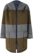 Piazza Sempione striped coat
