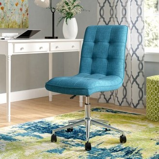 Andover Mills Geraghty Task Chair Upholstery Color: Blue