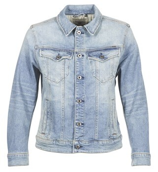 G Star Raw 3301 N BOYFRIEND DENIM JACKET women's Denim jacket in Blue