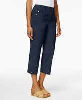 Style&Co. Style & Co Grommet-Detail Capri Pants, Only at Macy's
