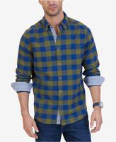 Nautica Men's Classic-Fit Buffalo Plaid Flannel Shirt