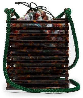 Montunas Vanda Acetate Box Bag - Womens - Multi