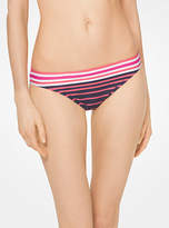 Michael Kors Striped Bikini Bottoms