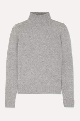 Theory Cashmere Turtleneck Sweater - Gray