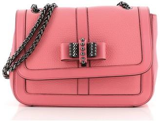 Christian Louboutin Sweet Charity Crossbody Bag Leather Medium