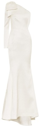Rebecca Vallance Exclusive to Mytheresa Francesca hammered-satin dress