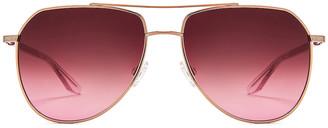 Barton Perreira Voltaire Sunglasses in Rose Gold & Desert Lilac | FWRD