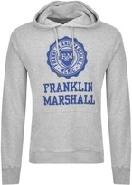 Franklin & Marshall Franklin Marshall Logo Hoodie Grey
