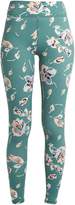 The Upside Deep Sea floral-print performance leggings