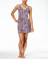 Alfani Mesh-Trimmed V-Neck Knit Chemise, Only at Macy's