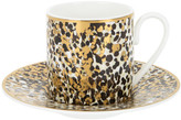 Roberto Cavalli Camouflage Teacup & Saucer