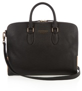 Burberry Horton grained-leather briefcase