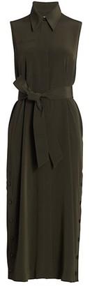 Co Sleeveless Midi Dress