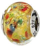 Murano Prerogatives Sterling Yellow/Multi Italian Glass Bead