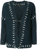 Isabel Marant stitch-detail knitted cardigan