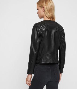 AllSaints Milou Leather Biker Jacket