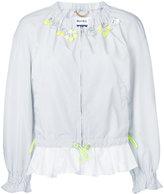 Muveil frill hem jacket - women - Polyester - 38