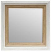 Threshold Antique Mirror - White 16x16
