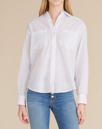 Veronica Beard Ferguson Button-Down Shirt