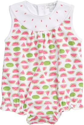 Kissy Kissy Watermelon Bubble Romper