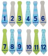 Pearhead Baby's First Year Felt Tie Stickers (Set of 12)