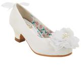 China Doll White Daisi Dress Shoe