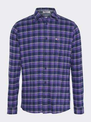 Tommy Hilfiger Flannel Check Print Regular Fit Shirt