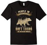 Men's People in Sleeping Bags Shirt Funny Camper Gift T-shirt Medium